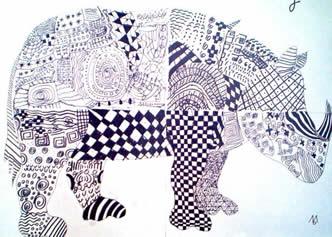 bildnerische erziehung in der volksschule rhinocerus. Black Bedroom Furniture Sets. Home Design Ideas