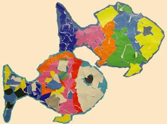 Bildnerische Erziehung In Der Volksschule Regenbogenfische