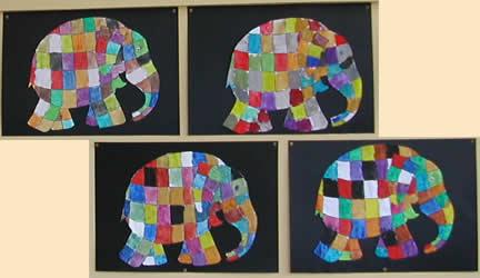 Bildnerische Erziehung In Der Volksschule Malen Elefant Elmar