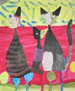 Bildnerische Erziehung In Der Volksschule Katzen