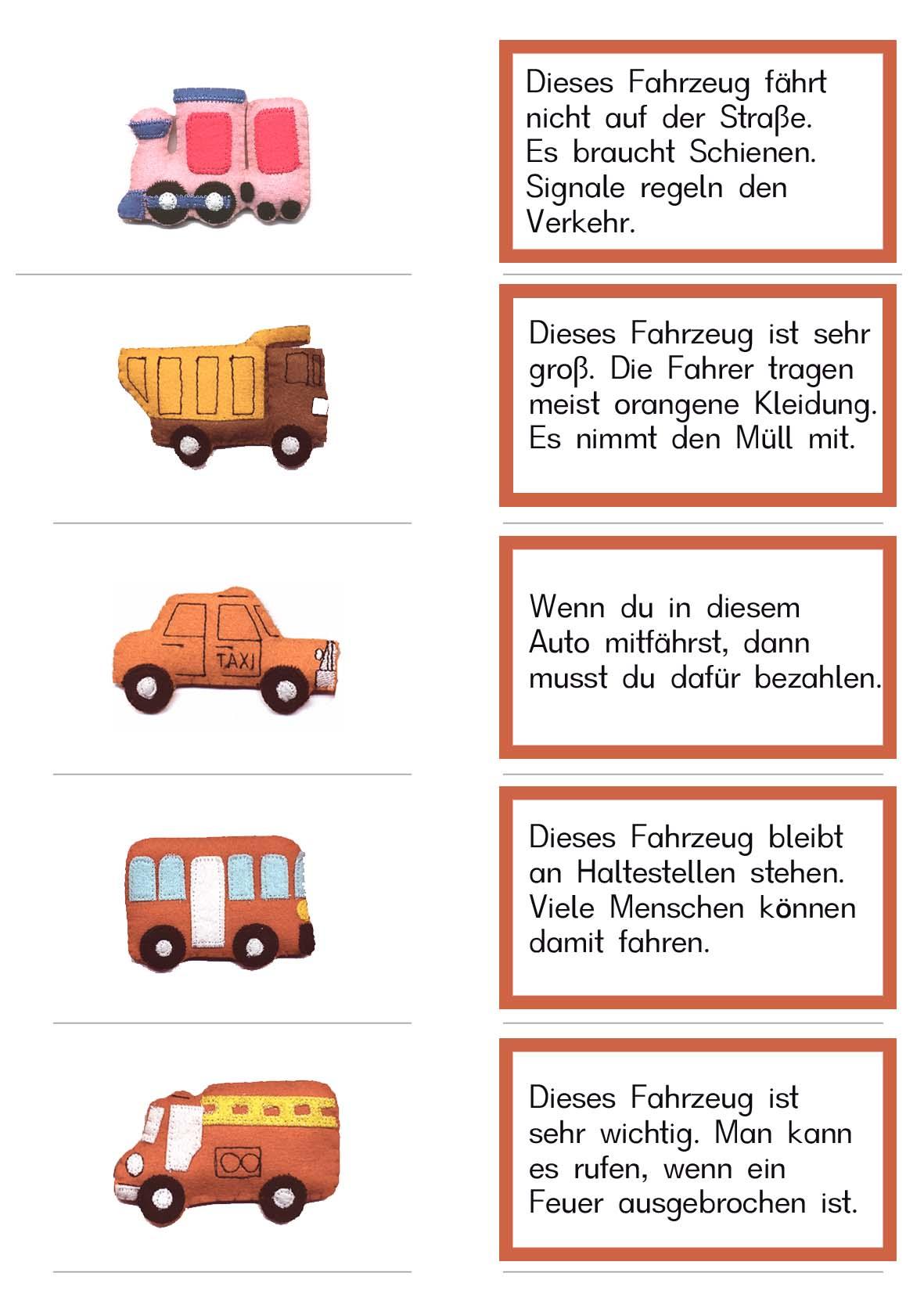 Verkehrserziehung - Sachunterricht in der Volksschule